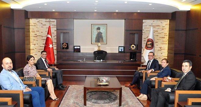 Gaziantep vergi dairesi başkanı Tekin'den GSO'ya ziyaret