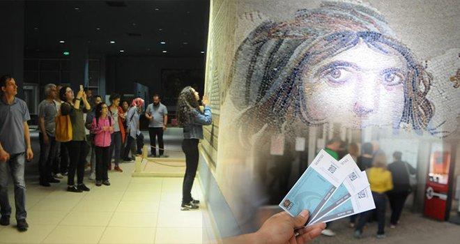 Gaziantep Zeugma Mozaik Müzesi'ne ziyaretçi akını