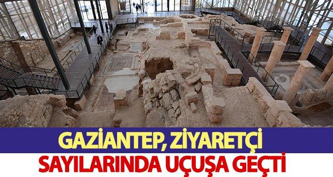 Gaziantep'e gelen yerli ve yabancı turist sayısında büyük artış