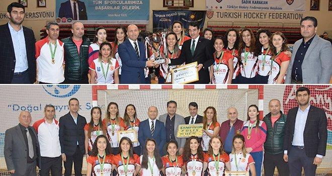 Gaziantep'e 25 Aralıkta Şampiyonluk Kupası hediye edildi