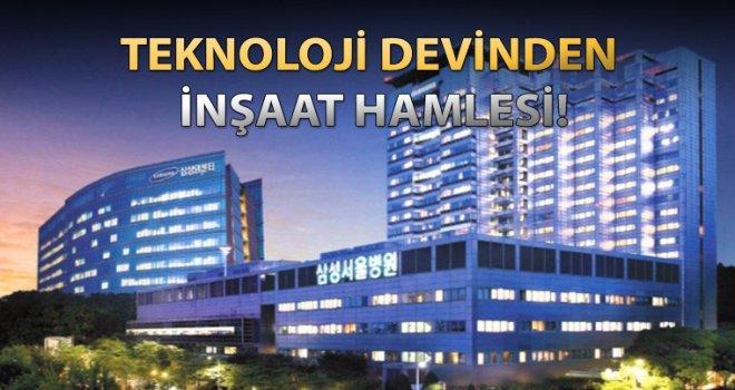 Gaziantep'e 900 yatak kapasiteli 'Samsung Hastanesi'