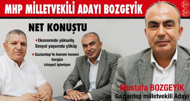 Gaziantep'in asayiş sorununu çözmeliyiz