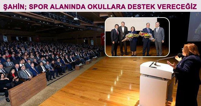 Gaziantep'in eğitim vizyonu okul müdürlerine anlatıldı