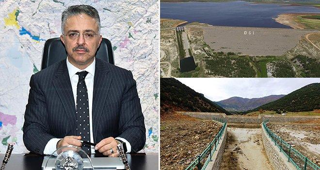Gaziantep'in içmesuyu meselesini kökten çözüyoruz