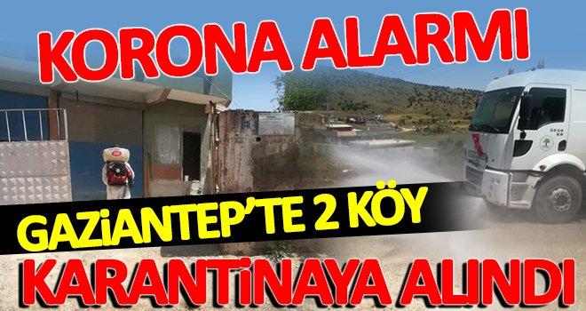 Gaziantep'te koronadan iki köy karantinaya alındı!..