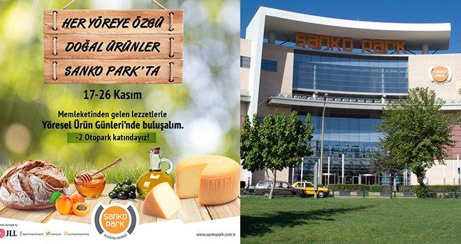 Gaziantep'in ilk 'Yöresel Ürün Günleri' Sanko Park'ta