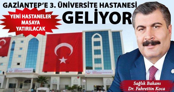Gaziantep'in sağlığı yeniden dizayn ediliyor