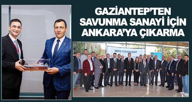 Gaziantep'in savunma sanayi yol haritası şekilleniyor