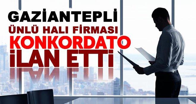 Gaziantepli 44 yıllık şirket konkordato ilan etti