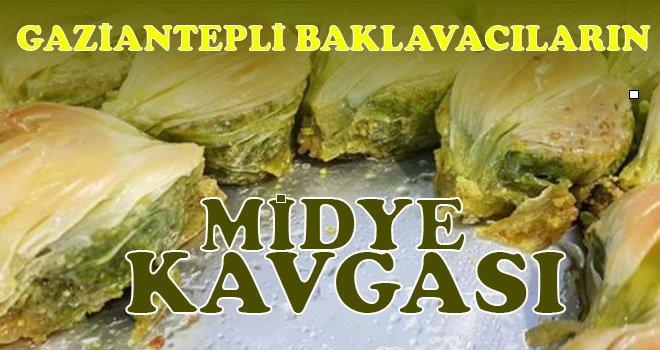 Gaziantepli baklavacıların 'Midye baklava' kavgası yargıya taşınacak