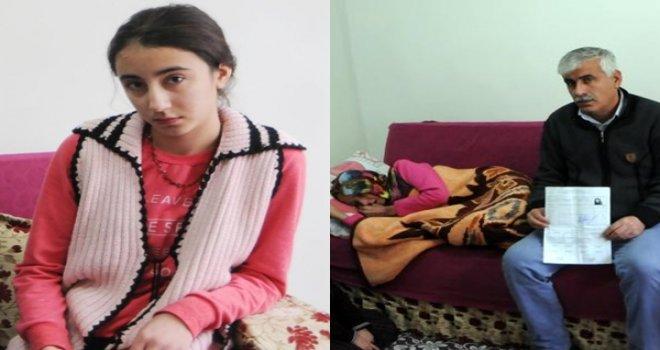 Gaziantepli Fatma, kanser annesine bakmak için okulu bıraktı