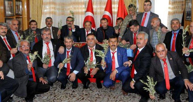 Gaziantepli muhtarlar, Mehmetçik'e destek için Kilis'e gidecek