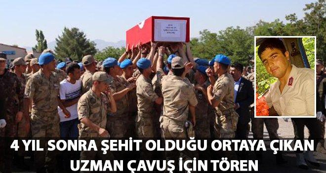 Gaziantepli şehit için tören düzenlendi!..