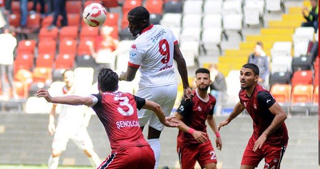 Gaziantepspor - Samsunspor: 2-1
