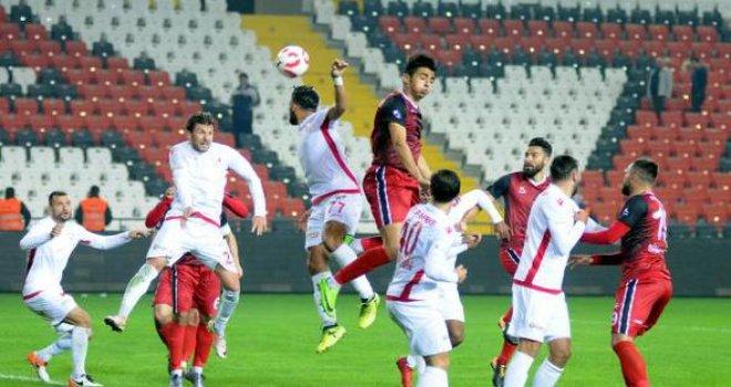 Gaziantepspor kendi sahasında  yine hüsran yarattı 0-3