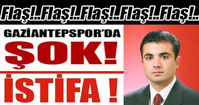 Gaziantepspor As Başkanı Çiftçi'den bomba açıklama! İstifa etti...