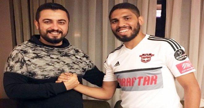 Gaziantepspor, Da Silva ile sözleşme imzaladı
