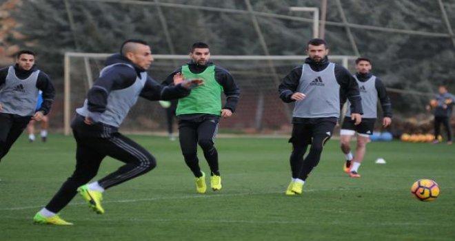 Gaziantepspor, Kayserispor maçı hazırlıklarını sürdürüyor