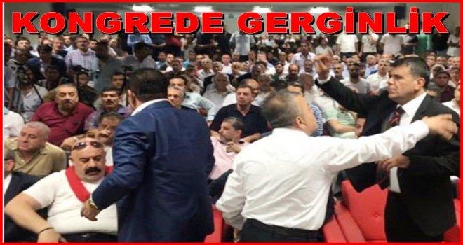 Gaziantepspor kongresi başladı, salonda gerginlik var