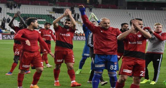 Gaziantepspor kritik maçta Konya'dan 3 puanla dönüyor