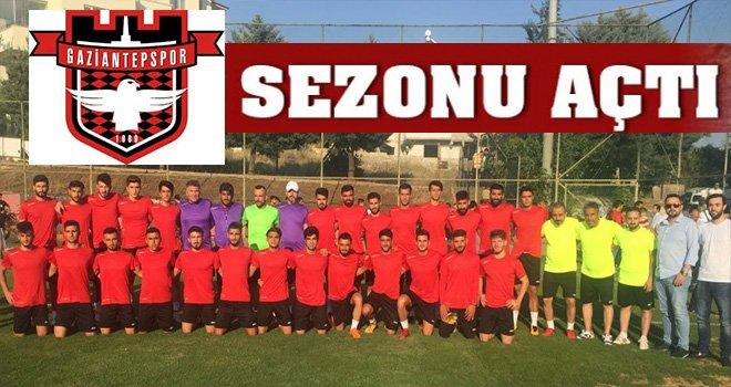 Gaziantepspor yeni sezonu sahaya inerek açtı
