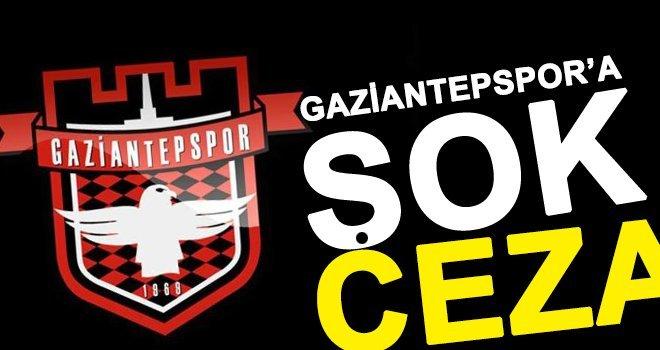 Gaziantepspor'a 6 puan silme cezası!..