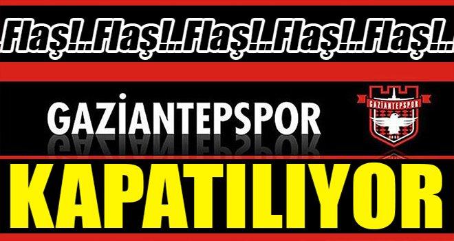 Gaziantepspor'da 50. yılında 'kulübü kapatma' kararı