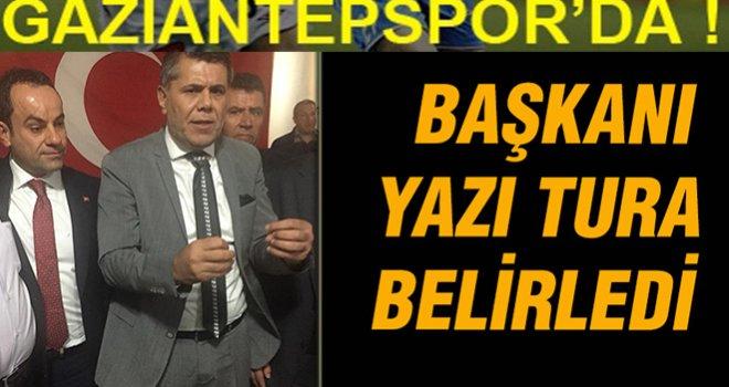 Gaziantepspor'un yeni Başkanı yazı Turayla belirlendi.