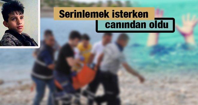 Gaziantep'te facia! 11 yaşındaki çocuk nehirde boğuldu