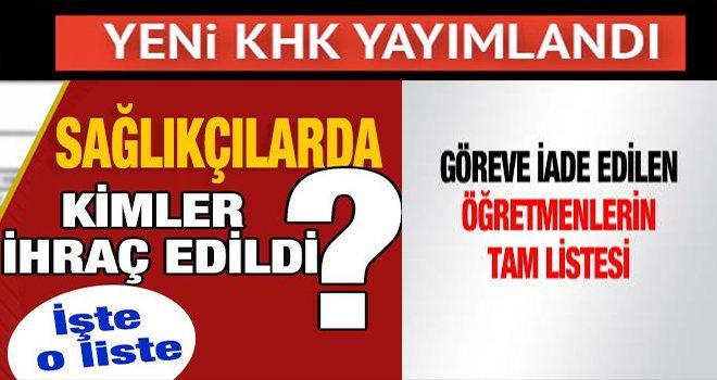 Gaziantep'te 13 öğretmen 2 sağlıkçı görevlerine iade edildiler