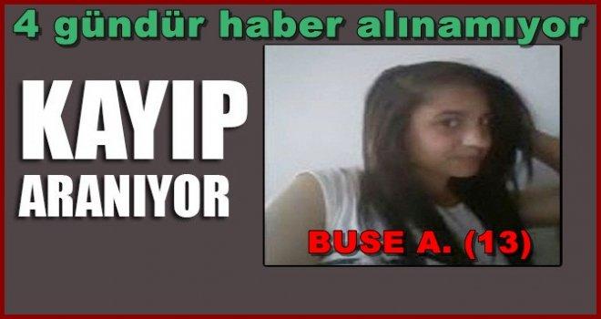 Gaziantep'te 13 yaşındaki Buse dört gündür kayıp