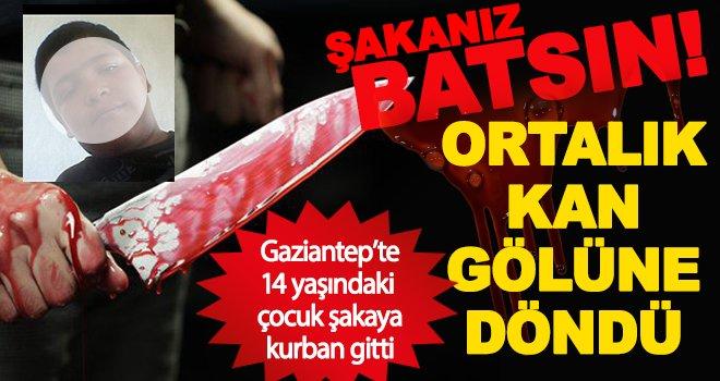 Gaziantep'te 14 yaşındaki çocuk arkadaş kurbanı oldu!