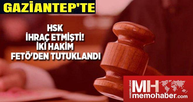 Gaziantep'te 2 eski hakim FETÖ'den tutuklandı