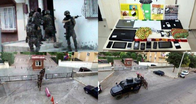 Gaziantep'te 200 polisle PKK operasyonu: 11 gözaltı