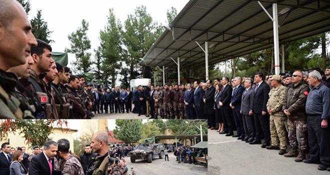 Gaziantep'te 22 Özel Harekat Polisimiz dualarla uğurlandı...
