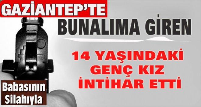 Gaziantep'te 23 Nisan'da başkanlık koltuğuna oturan kız intihar etti