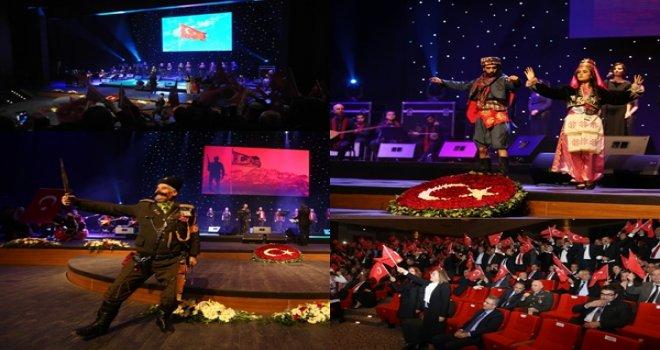 Gaziantep'te 25 Aralık Kurtuluş Bayramı'na özel kutlama