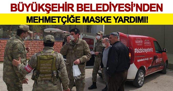 Gaziantep'te 25 bin maske dağıtıldı!..