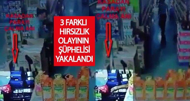 Gaziantep'te 3 farklı iş yerinden hırsızlık: 1 gözaltı