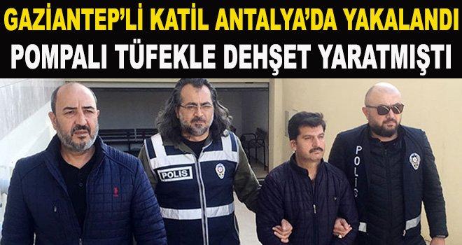 Gaziantep'te 3 kişiyi katletti sahte kimlikle yakalandı