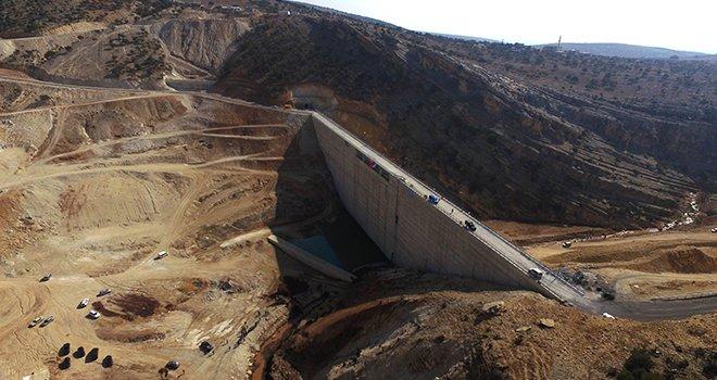 Gaziantep'te 50 yıllık rüya gerçek oldu! Su tutulmaya başlandı!