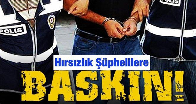 Gaziantep'te, 7 hırsızlık şüphelisi tutuklandı