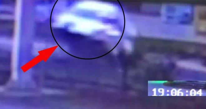 Gaziantep'te 9 kişinin yaralandığı kaza kamerada