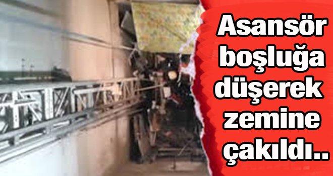 Gaziantep'te asansörde can pazarı! 5 Yaralı