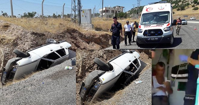 Gaziantep'te aşırı sürat can anılıyordu! 4 yaralı