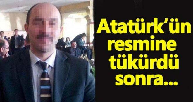 Gaziantep'te Atatürk'e hakaret eden öğretmen...