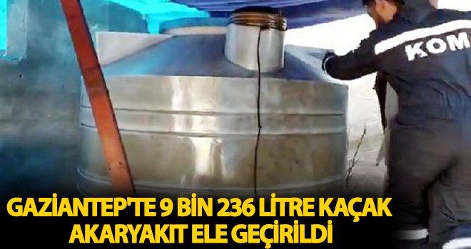 Gaziantep'te bağ evinde kaçak akaryakıt ele geçirildi