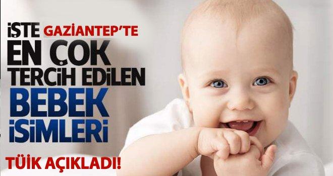 Gaziantep'te bakın bebeklerde hangi isimler çok kullanılmış?