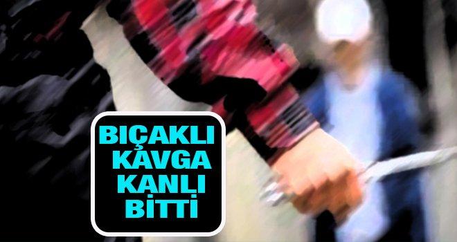 Gaziantep'te bıçaklı kavga: 1 yaralı