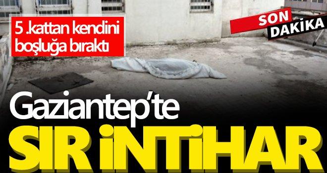 Gaziantep'te bir gencin hazin sonu: Beton zemine çakıldı
